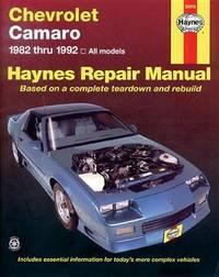 Chevrolet Camaro (82 - 92) by J.H. Haynes