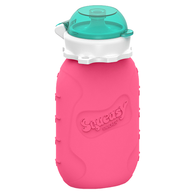 Squeasy Gear Snacker - Pink (180ml)
