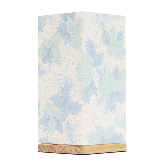 Kami Lamp Maple Leaves (Blue)