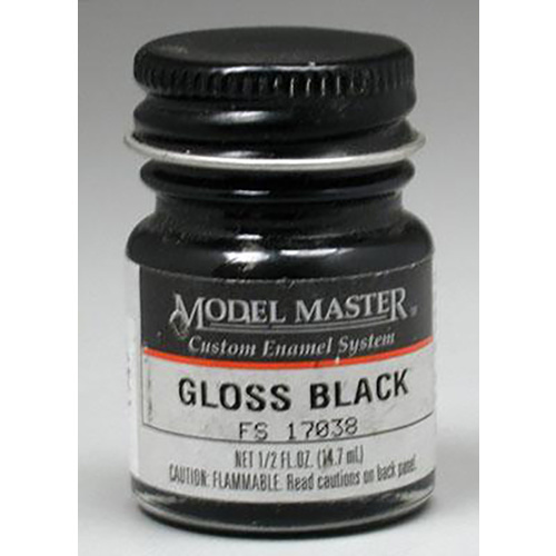 Testors: Enamel Paint - Black (Gloss) image