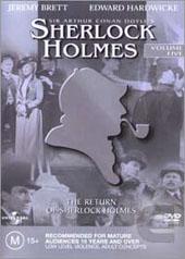 Sherlock Holmes - Vol 5 on DVD