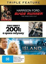 Blade Runner / 2001 - A Space Odyssey / Island - Triple Feature (3 Disc Set) on DVD