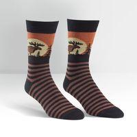 Mens - Moose Crew Socks