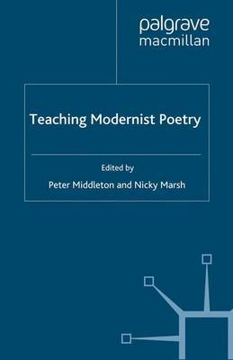 Teaching Modernist Poetry image