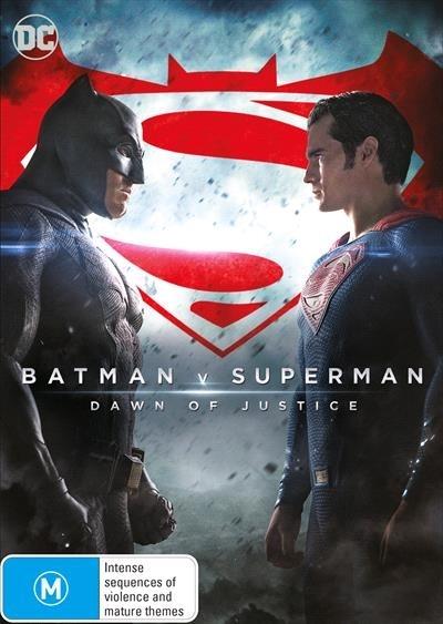 Batman v Superman: Dawn of Justice on DVD image