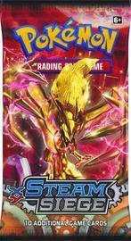 Pokemon TCG XY Steam Siege Single Booster