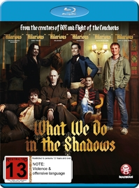 What We Do In The Shadows on Blu-ray