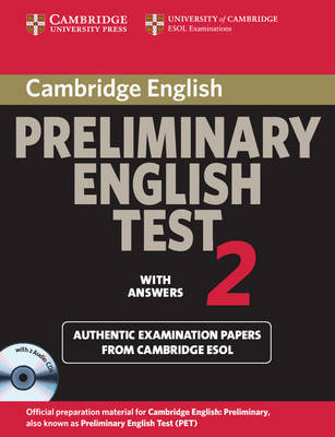Cambridge Preliminary English Test 2 Self-study Pack: Examination Papers from the University of Cambridge ESOL Examinations: Level 2 image