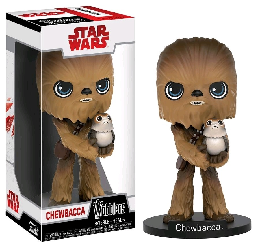 Star Wars: The Last Jedi - Chewbacca Wobbler Vinyl Figure image