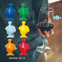 Gama-Go: Drink Like A Fish - Glass Markers (Set of 6)
