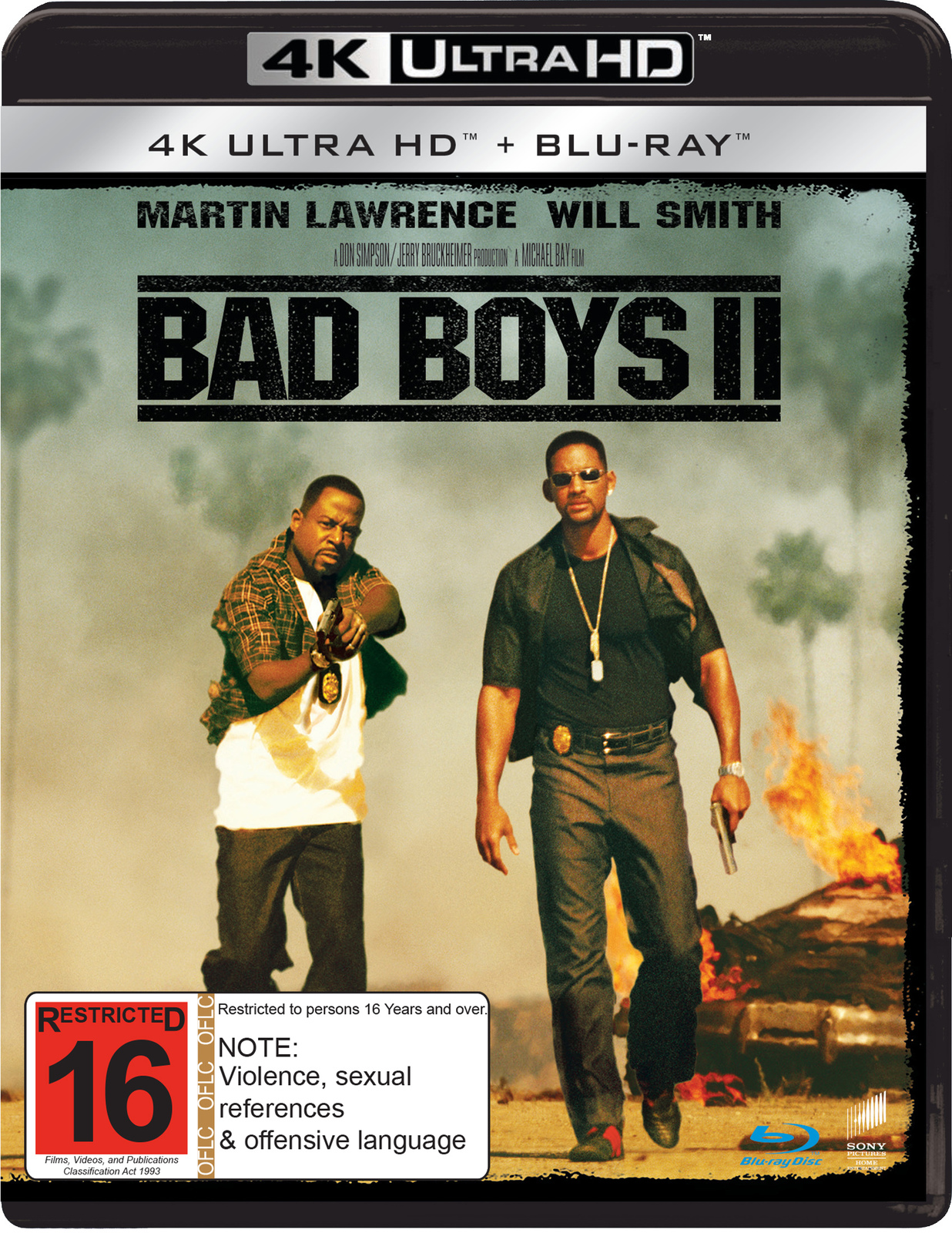 Bad Boys II on UHD Blu-ray image