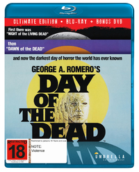 Day Of The Dead - Ultimate Edition (Bluray+DVD) on DVD, Blu-ray