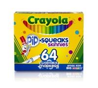 Crayola Pip-Squeaks™ Skinnies Markers (64 Pack)