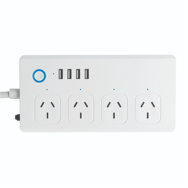 Brilliant Smart: Smart WiFi Powerboard with USB Chargers