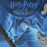 Harry Potter: Order of the Phoenix - Book Cover Artwork