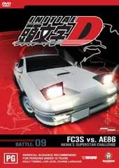 Initial D - Battle 09 - Akina's Superstar Challenge on DVD