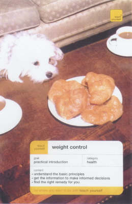 Teach Yourself Weight Control Through Diet and Exercise by Geoffrey Webb