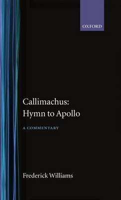 Callimachus: Hymn to Apollo: A Commentary image