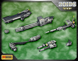 Zoids HMM: 1/72 Beam Gatling Gun Set