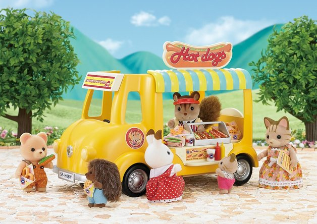 Sylvanian Families: Hot Dog Van