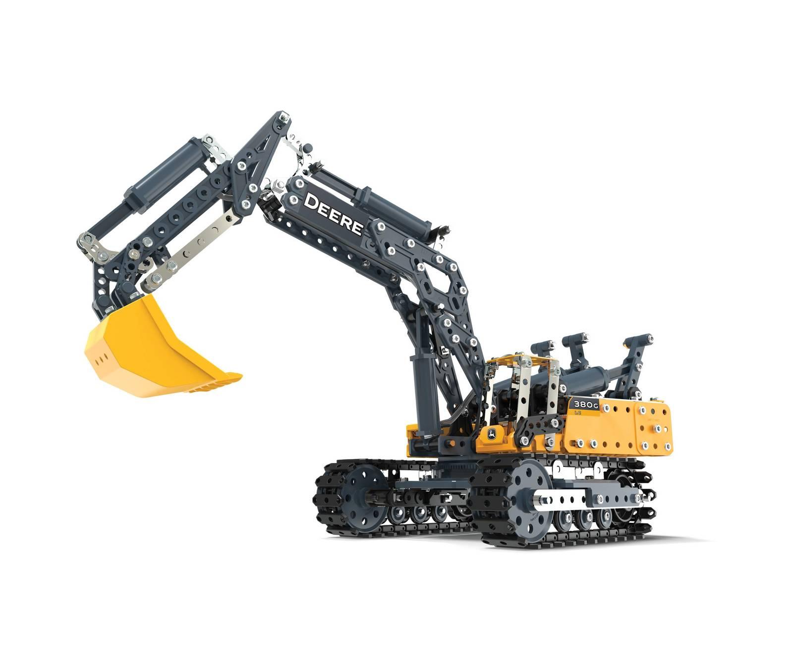 Meccano: John Deere - 380G Excavator image