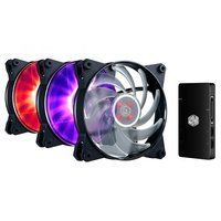 Cooler Master MasterFan Pro RGB Air Balance Cooling Fan Combo (120mm)