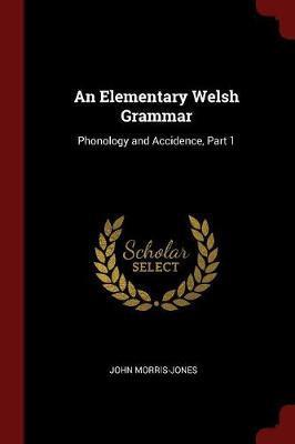 An Elementary Welsh Grammar by John Morris Jones image