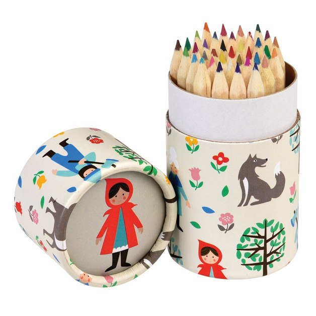 Red Riding Hood Coloured Pencils (Set of 36)