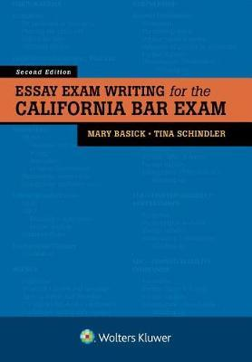 Essay Exam Writing for the California Bar Exam by Mary Basick image