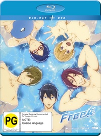Free! Iwatobi Swim Club: Complete Season 1 on DVD, Blu-ray