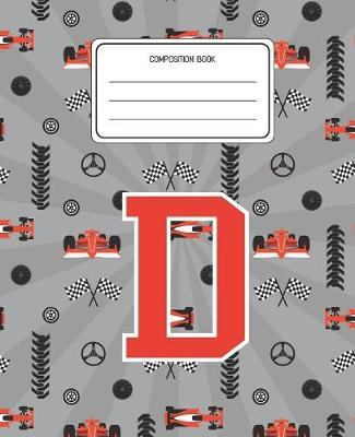 Composition Book D by Racing Cars Composition Books
