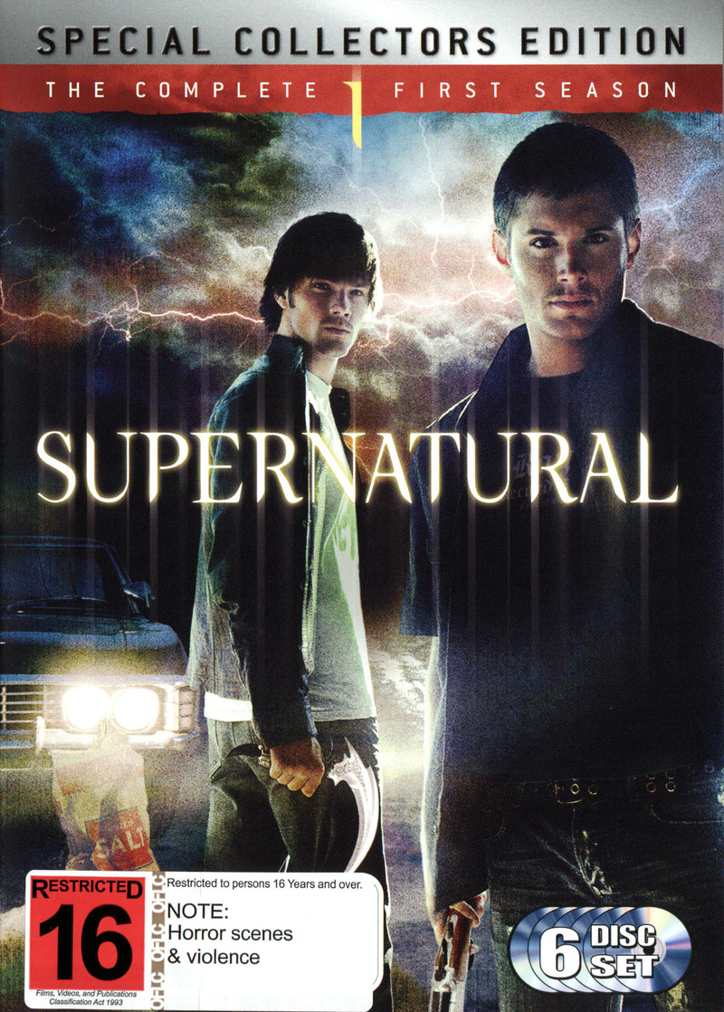 Supernatural - The Complete 1st Season: Special Collector's Edition (6 Disc Set) on DVD image