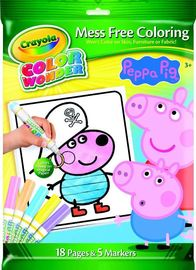 Crayola: Colour Wonder Markers & Paper Peppa Pig
