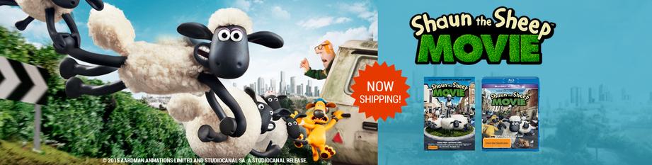 Shaun the Sheep Now Shipping