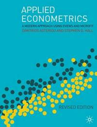 Applied Econometrics: A Modern Approach Using Eviews and Microfit by Dimitrios Asteriou image