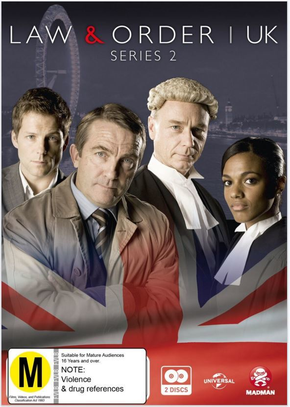 Law & Order UK: Series 2 on DVD image