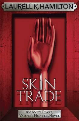 Skin Trade (Anita Blake #17) (red frame) by Laurell K. Hamilton
