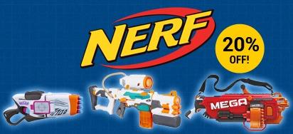 20% Off Nerf!