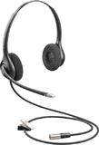 Plantronics Supraplus Wideband HW261N-DC Headset - Dual Channel TA6MLX Connector