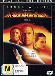 Armageddon (1 Disc) on DVD image