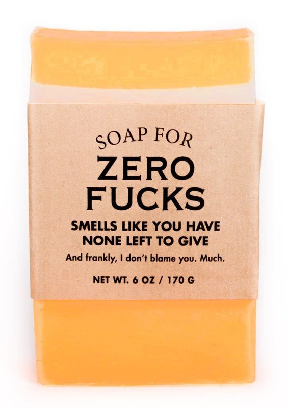 Whiskey River Co: Soap For Zero F*cks