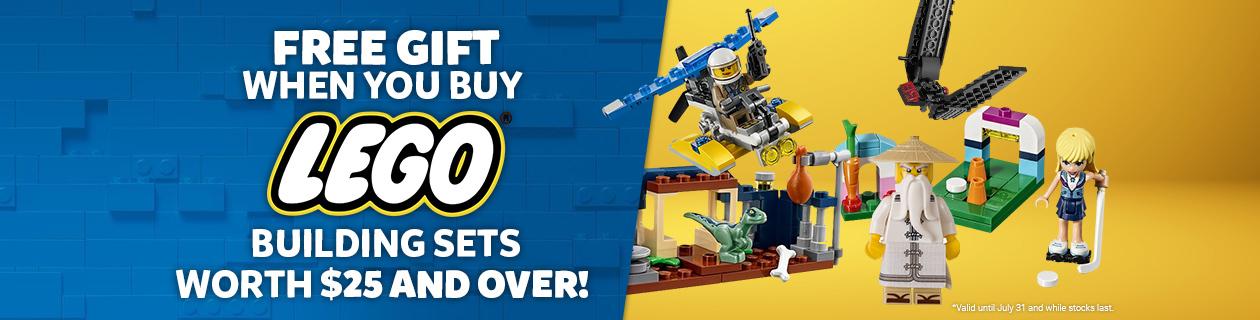 LEGO GWP July