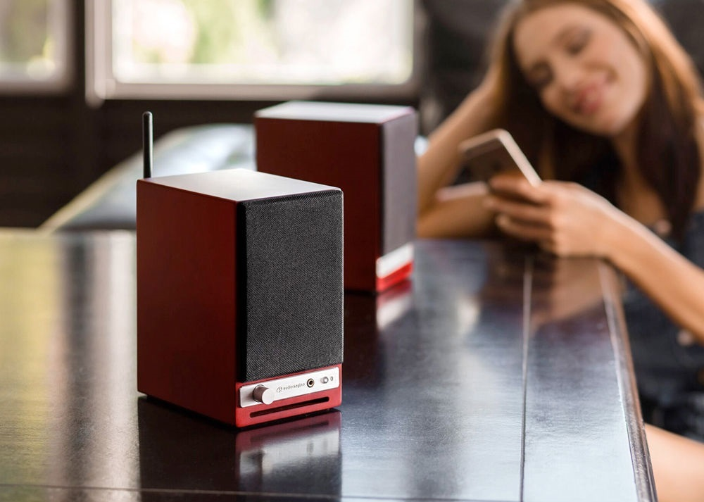 Audioengine: HD3 Powered Desktop Speakers (Pair) - Cherry image