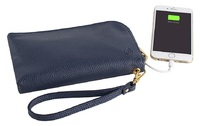 Incipio Chic Buds Clutch Charge Purse - 2600mAh - Navy image