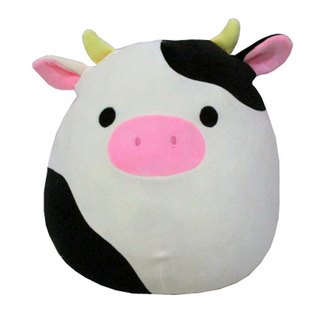 "Squishmallows 12"" Plush - Connor the Cow"