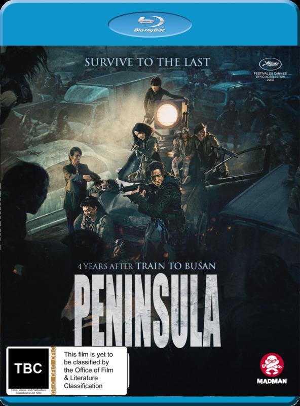 The Train To Busan Presents: Peninsula on Blu-ray