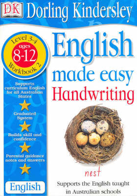 English Made Easy: Handwriting: Level 3-4, Workbook 2 by Dorling Kindersley