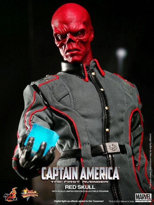 "Captain America Movie 1/6 Scale 12"" Action Figure - Red Skull"