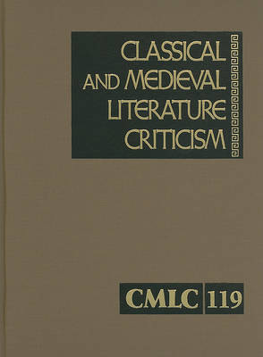 Classical and Medieval Literature Criticism, Volume 119 image