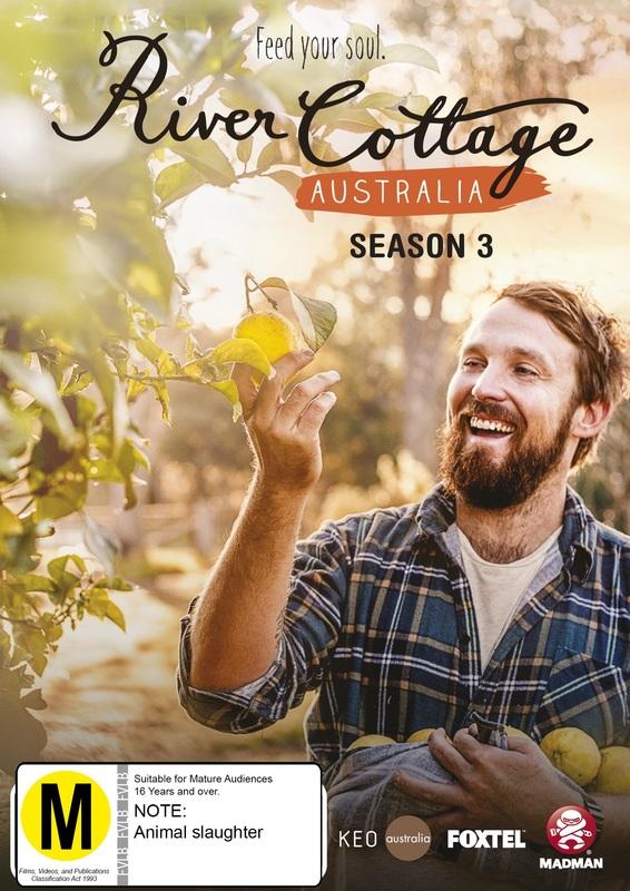 River Cottage Australia: Season 3 on DVD